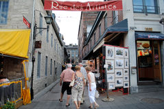 Rue d'artiste photo stock
