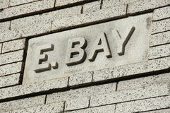 Rue d'EBay Photos libres de droits