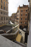 Rue d'escaliers, Rome Photo stock