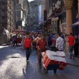 Rue d'Istanbul Images libres de droits