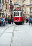 Rue d'Istiklal Photos stock