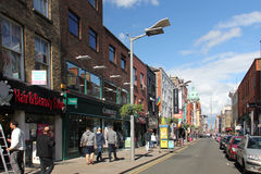 Rue d'O'Connell, Dublin Images stock
