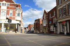 Rue dans Colchester Photo stock
