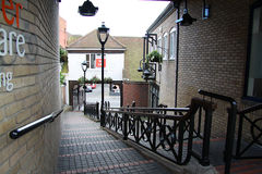 Rue dans Colchester Photo libre de droits