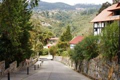 Rue dans Colonia Tovar photographie stock libre de droits