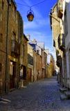 Rue dans Dinan Photo libre de droits