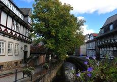 Rue dans Goslar Photographie stock libre de droits