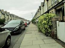 Rue dans Heaton Newcastle sur Tyne photographie stock