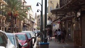 Rue dans Jaffa l'israel banque de vidéos