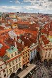 Rue dans la vieille ville de Prague Photographie stock libre de droits