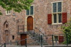 Rue dans la vieille ville historique Photographie stock libre de droits