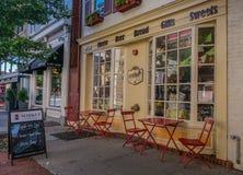 Rue dans la ville de Frederick photos libres de droits