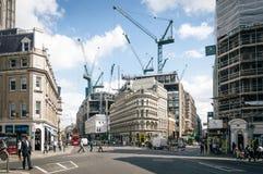 Rue dans la ville de Londres Image stock