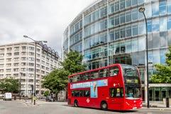 Rue dans la ville de Londres Photo stock