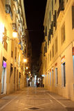 Rue dans la ville de Malaga Photo stock
