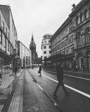 Rue dans le dusselforf photographie stock