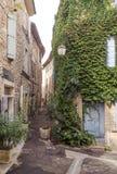 Rue dans les Frances Image libre de droits