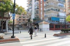 Rue dans Marabella Image libre de droits