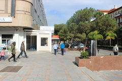 Rue dans Marabella Photos libres de droits