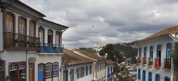 Rue dans Ouro Preto images libres de droits