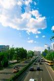 Rue dans Pékin Image libre de droits