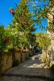 Rue dans Ravello Images stock