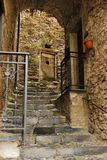 Rue dans Triora 4 Photo stock