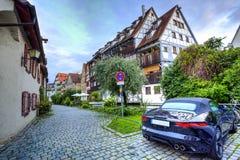 Rue dans Ulm, Allemagne image stock