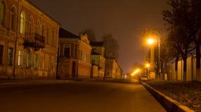 Rue dans une partie historique de Tver Photo stock
