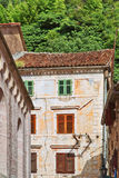Rue dans vieux Kotor Image libre de droits