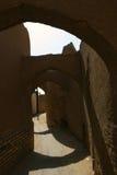 Rue dans Yazd, Iran Photo libre de droits