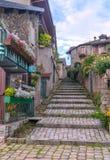 Rue dans Yvoire Photos stock