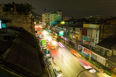 Rue de Bangkok Images libres de droits