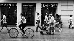 Rue de Barcelone Photographie stock libre de droits