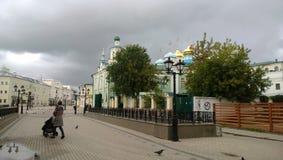 Rue de Bauman à Kazan image stock