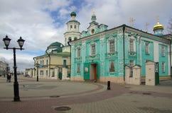 Rue de Baumana à Kazan Images libres de droits
