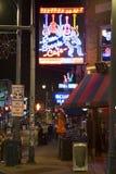 Rue de Beale, Memphis Tennessee Photo libre de droits