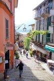 Rue de Bellagio Image stock