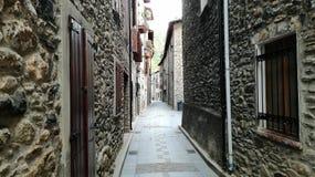Rue de Benasque Photos libres de droits