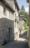 Rue de Benasque Photo stock