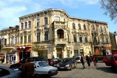 Rue de Braila, Roumanie Image libre de droits