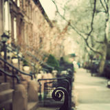 Rue de Brooklyn Photographie stock
