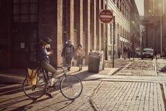 Rue de Brooklyn photos stock