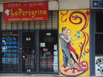 Rue de Buenos Aires. Photos libres de droits