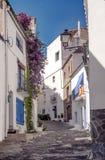 Rue de Cadaques Photos libres de droits