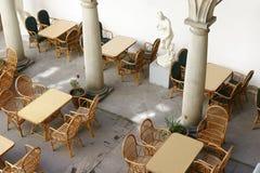 rue de café Images stock