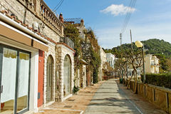 Rue de Capri. Image stock
