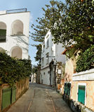 Rue de Capri. photo stock