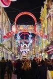 Rue de Carnaby Image stock