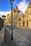 Rue de Catte, Oxford photo libre de droits